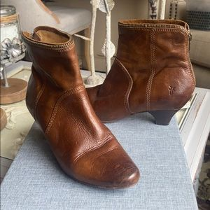 Frye Brown Adorable Boots